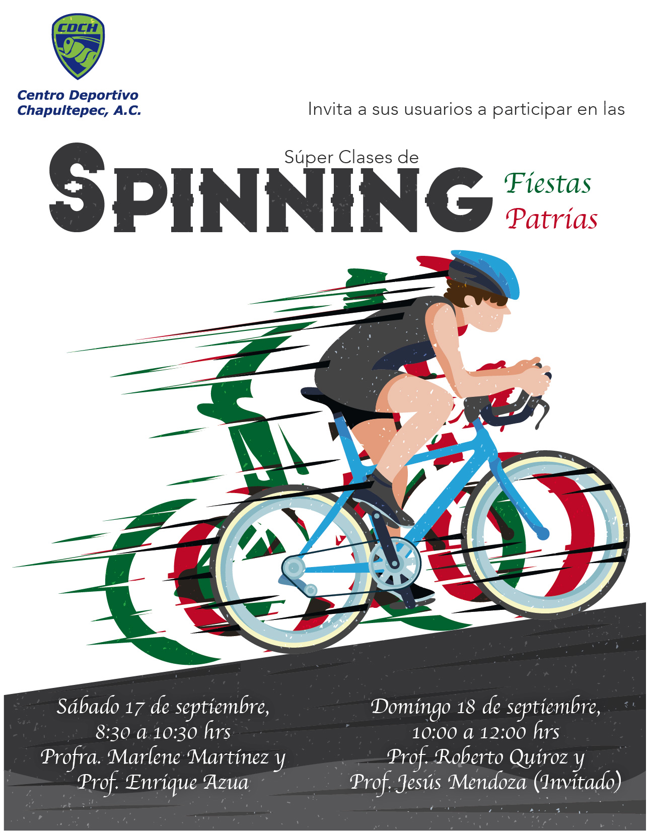 Category archive for spinning deportivo chapultepec for Clases de spinning